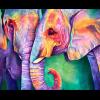 """Набор для картины стразами """"Мудрость слонов"""" """"Алмазная живопись"""""""