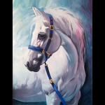 """Набор для картины стразами """"Грезы белого коня"""" """"Алмазная живопись"""""""