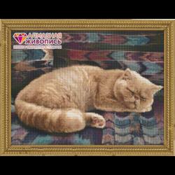 """Набор для картины стразами """"Персидский кот"""" """"Алмазная живопись"""""""