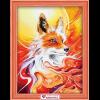 """Набор для картины стразами """"Огненная лисица"""" """"Алмазная живопись"""""""