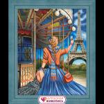 """Набор для картины стразами """"Следуй за мной. Париж"""" """"Алмазная живопись"""""""