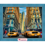 """Набор для картины стразами """"Такси Нью-Йорка"""" """"Алмазная живопись"""""""