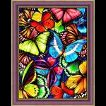 """Набор для картины стразами """"Яркие бабочки"""" """"Алмазная живопись"""""""