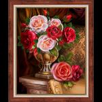 """Набор для картины стразами """"Благородные розы"""" """"Алмазная живопись"""""""