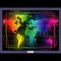 """Набор для картины стразами """"Карта мира"""" """"Алмазная живопись"""""""