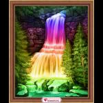 """Набор для картины стразами """"Радужный водопад"""" """"Алмазная живопись"""""""