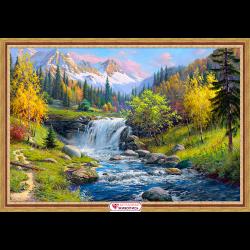 """Набор для картины стразами """"Горный ручей"""" """"Алмазная живопись"""""""