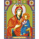 """Набор для картины стразами """"Икона Иверская Богородица"""" """"Алмазная живопись"""""""