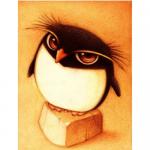 """Набор для картины стразами """"Пингвин"""" """"Алмазная живопись"""""""