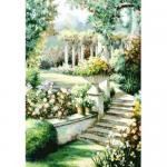 """Набор для картины стразами """"Цветочный сад"""" """"Алмазная живопись"""""""