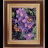 """Набор для картины стразами """"Бабочки в лиловом"""" """"Color Kit"""""""