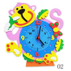 """Набор для творчества из пластичной замши """"Часы Обезьянка"""" """"Color Kit"""""""