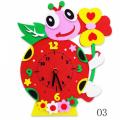 """Набор для творчества из пластичной замши """"Часы Божья коровка"""" """"Color Kit"""""""