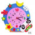 """Набор для творчества из пластичной замши """"Часы Панда"""" """"Color Kit"""""""