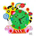 """Набор для творчества из пластичной замши """"Часы Тигр"""" """"Color Kit"""""""