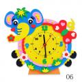 """Набор для творчества из пластичной замши """"Часы Слон"""" """"Color Kit"""""""