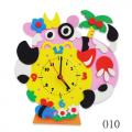 """Набор для творчества из пластичной замши """"Часы Буренка"""" """"Color Kit"""""""