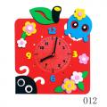 """Набор для творчества из пластичной замши """"Часы Яблоко"""" """"Color Kit"""""""