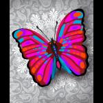 """Набор для картины стразами """"Чудо-бабочка"""" """"Color Kit"""""""