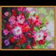 """Набор для картины стразами """"Алмазные цветы"""" """"Color Kit"""""""