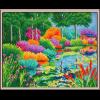 """Набор для картины стразами """"Райский сад"""" """"Color Kit"""""""