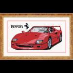"""Набор для картины стразами """"Ferrari"""" """"Color Kit"""""""