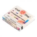"""Полимерная глина CCH с эффектом матового стекла цв. 1401 белый 50гр """"Craft&Clay"""""""