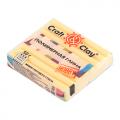"""Полимерная глина CCH с эффектом матового стекла цв. 1403 липовый мёд 50гр """"Craft&Clay"""""""