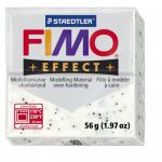Полимерная глина FIMO Effect белый с блестками 56 гр