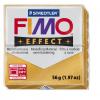 Полимерная глина FIMO Effect золото 56 гр