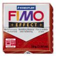 Полимерная глина FIMO Effect красный с блестками 56 гр