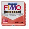 Полимерная глина FIMO Effect полупрозрачный красный 56 гр