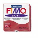 Полимерная глина FIMO Soft вишневый 56 гр