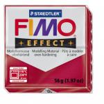 Полимерная глина FIMO Effect рубиновый металлик 56 гр