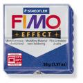 Полимерная глина FIMO Effect синий с блестками 56 гр