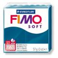 Полимерная глина FIMO Soft синий калипсо 56 гр