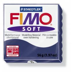 Полимерная глина FIMO Soft королевский синий 56 гр
