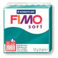 Полимерная глина FIMO Soft темная бирюза 56 гр