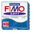 Полимерная глина FIMO Soft синий 56 гр