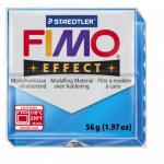 Полимерная глина FIMO Effect полупрозрачный синий 56 гр