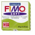 Полимерная глина FIMO Soft зеленое яблоко 56 гр