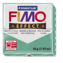 Полимерная глина FIMO Effect полупрозрачный зеленый 56 гр
