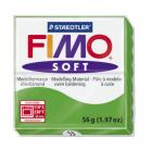 Полимерная глина FIMO Soft тропический зеленый 56 гр