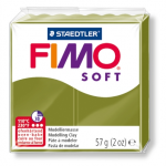 Полимерная глина FIMO Soft оливковый 56 гр
