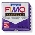 Полимерная глина FIMO Effect фиолетовый с блестками 56 гр