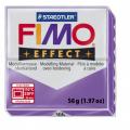 Полимерная глина FIMO Effect полупрозрачный фиолетовый 56 гр