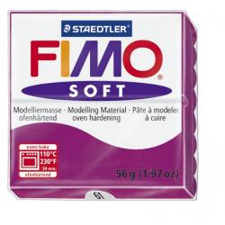 Полимерная глина FIMO Soft фиолетовый 56 гр