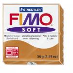 Полимерная глина FIMO Soft коньяк 56 гр