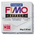 Полимерная глина FIMO Effect серебряный метеллик 56 гр