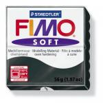 Полимерная глина FIMO Soft черный 56 гр